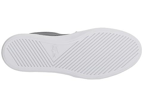 White WhiteNavy 2 Lacoste Gazon 318 Light Grey HwAwPfaqT