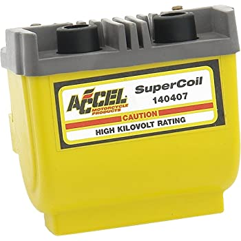 Accel Super Coil Electronic, Ignition 2.3 Ohm Yellow