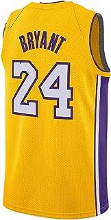 '47 Mens Kobe Jersey Los Angeles 24 Bryant Jerseys Basketball Yellow Jersey