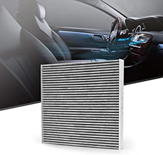 KAFEEK Cabin Air Filter Fits CF12000, 68223044AA, 68223044A, Replacement forJEEP Cherokee/CHRYSLER 200, includes Activated Carbon