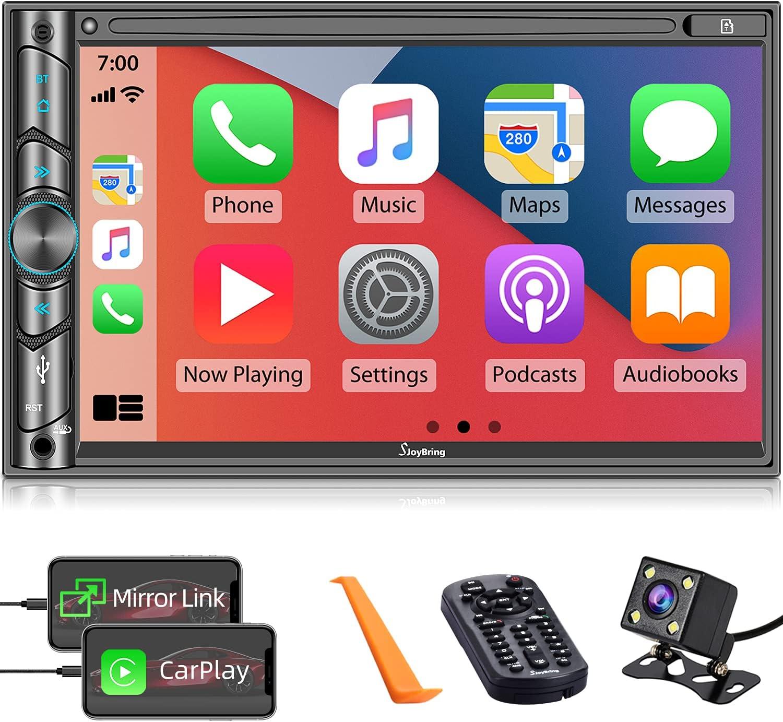 Double DIN CarPlay Multimedia Player, 7