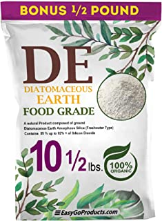 EasyGoProducts Diatomaceous Earth - 100% Natural Food Grade - DE Fresh Water