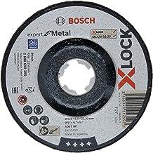 Bosch Professional Expert eğimli bombeli taşlama diski (metal için, X-LOCK için, delik çapı: 22,23 mm, kalınlık: 6 mm), 26...