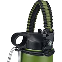 TUOYI Paracord Handle for Hydroflask Water Bottle with Safety Ring