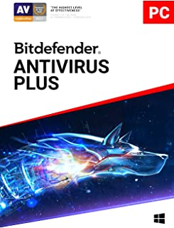 Bitdefender Antivirus Plus - 1 Device | 1 year Subscription | PC Activation Code by email