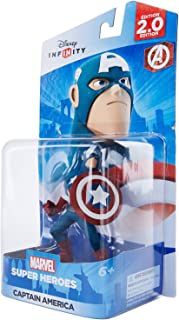 Disney Infinity: Marvel Super Heroes (2.0 Edition) Captain America Figure - Not Machine Specific by Disney Infinity