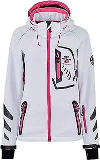 Geographical Norway Chaqueta deportiva para mujer de softshell funcional para exterior, para la lluvia