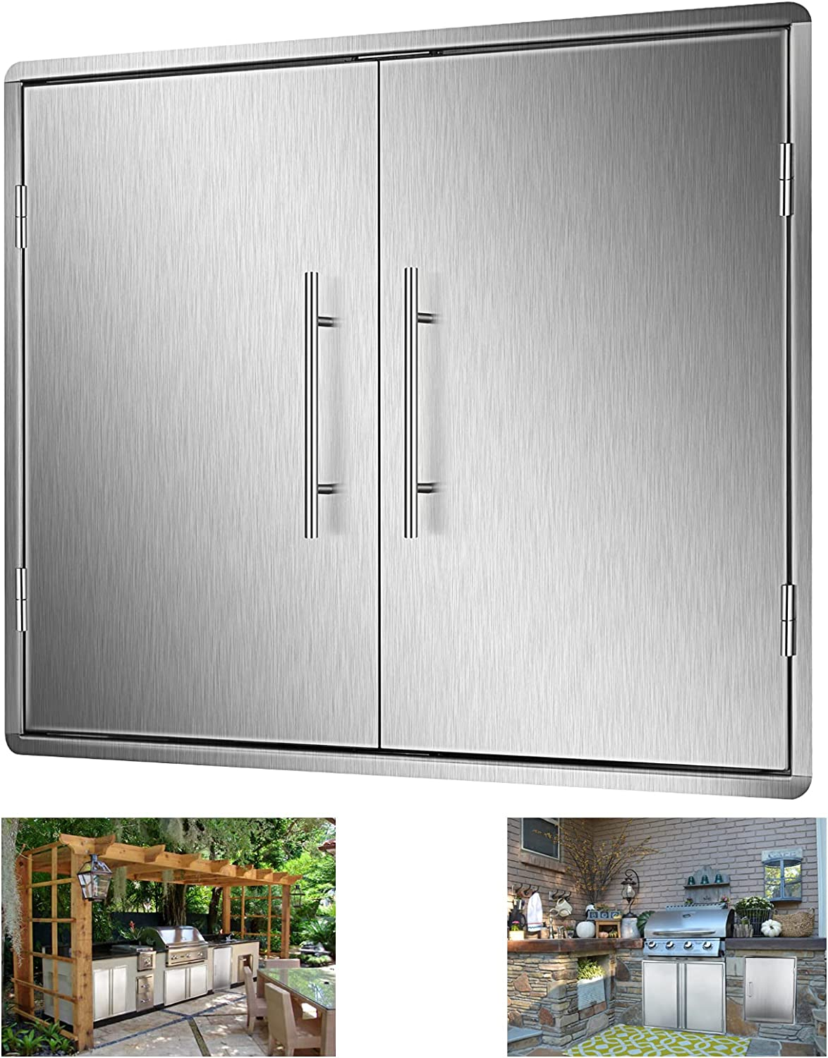 Outdoor Kitchen Challenge the lowest price Doors 30.5 X 20 BBQ Inch Access Factory outlet Steel Stainless