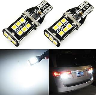 JDM ASTAR Super Bright Error Free 921 912 3035 Chips White LED Bulbs For Backup Reverse Lights