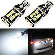 JDM ASTAR Extremely Bright 2000 Lumens Error Free 921 912 3035 Chips LED Bulbs For Backup Reverse Lights, Xenon White