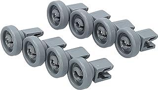 Lavavajillas juego de ruedas [cesta superior] recambios para muchos comunes lavavajillas de Bosch Zanussi Miele etcétera