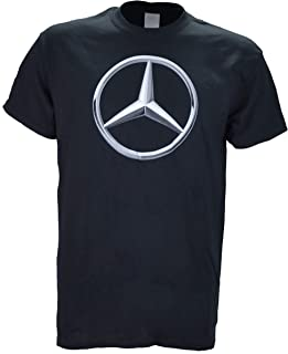 Mercedes Benz on a Black T Shirt