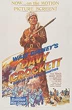 Berkin Arts Movie Poster Giclee Print On Canvas-Film Poster Reproduction Wall Decor(Davy Crockett 2) #XFB