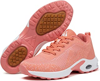 Mishansha Chaussures de Sport Femme Golf Chaussure Filles Antidérapant Running Baskets Dame Respirantes Course Sneakers Lé...
