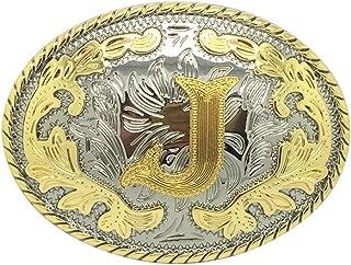 belt buckle initial