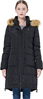 Women's Long Hooded Down Coat Thickened Jacket