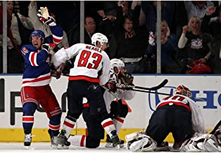 Brad Richards Game Tying Goal vs Washington Capitals 16x20 Photo Signed - Steiner Sports Certified - Autographed NHL Photos