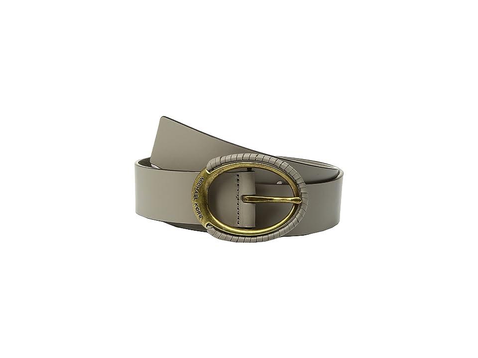 MICHAEL Michael Kors 38mm Belt w/ Wrapped Buckle (Mink) Women