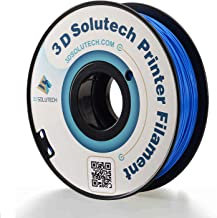 3D Solutech Real Blue 3D Printer PLA Filament 1.75MM Filament, Dimensional Accuracy +/- 0.03 mm, 2.2 LBS (1.0KG) - ST176BLPLA
