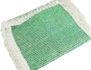 【さらさ】 スパンコールとレース 兵児帯 浴衣帯 her-101 (Cグリーン系)