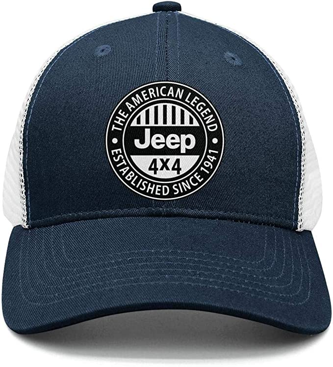 Awesome Jeep Girl for Jeep Lovers Mesh Baseball Caps Kids Truckers Hat for Girls