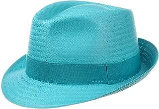 Amazon.es: Turquesa - Sombreros Panamá / Sombreros y gorras: Ropa