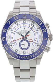 Rolex Yacht-Master II Automatic-self-Wind Male Watch 116680 (Certified Pre-Owned)