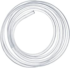 Kesote 10mm (diámetro Interior) x 12mm (diámetro Exterior) Tubo Flexible de PVC, Tubo Transparente de 3 Metros Ideal para Tanque y Acuario