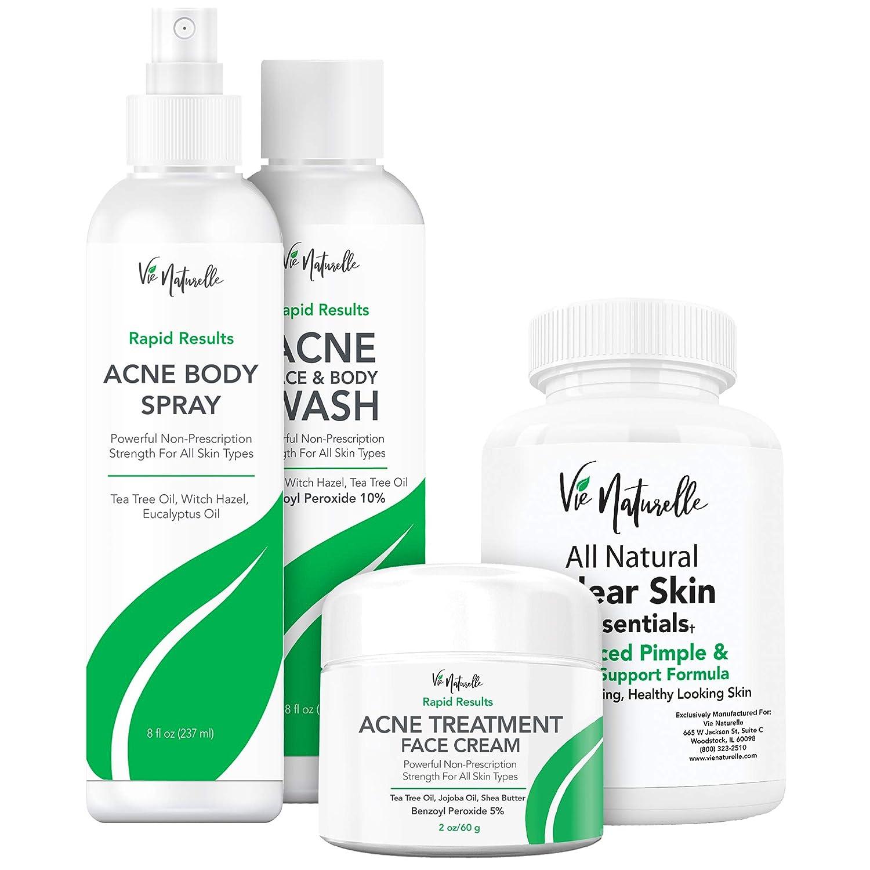 Oklahoma City Mall Body Overseas parallel import regular item Acne Spray Cream Vitamins Face Wash for