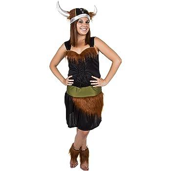 Costumizate! Disfraz de Vikinga para Mujer Adulta Especial para ...
