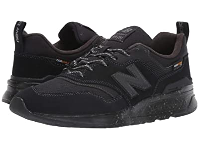 New Balance 997H (Black Suede/Textile) Men