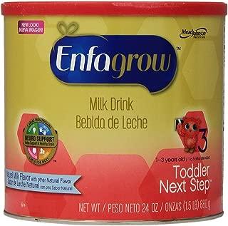 Enfagrow Toddler Next Step Toddler Milk Drink - Natural Milk Flavor - Powder - 24 oz - 4 pk