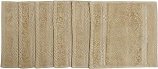 Divine Cotton Solid Pattern,Beige - Face Towel