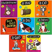 Kes Gray Oi Frog and Friends Collection 8 Books Set (Oi Duck-billed Platypus, Oi Frog, Oi Cat, Quick Quack Quentin, Oi Dog, Oi Puppies, Oi Goat, Oi Get Stuck In)