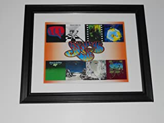 Yes 6 Album Cover Poster 1969-1974 Fragile, Relayer, Oceans, S/T Framed Print 14