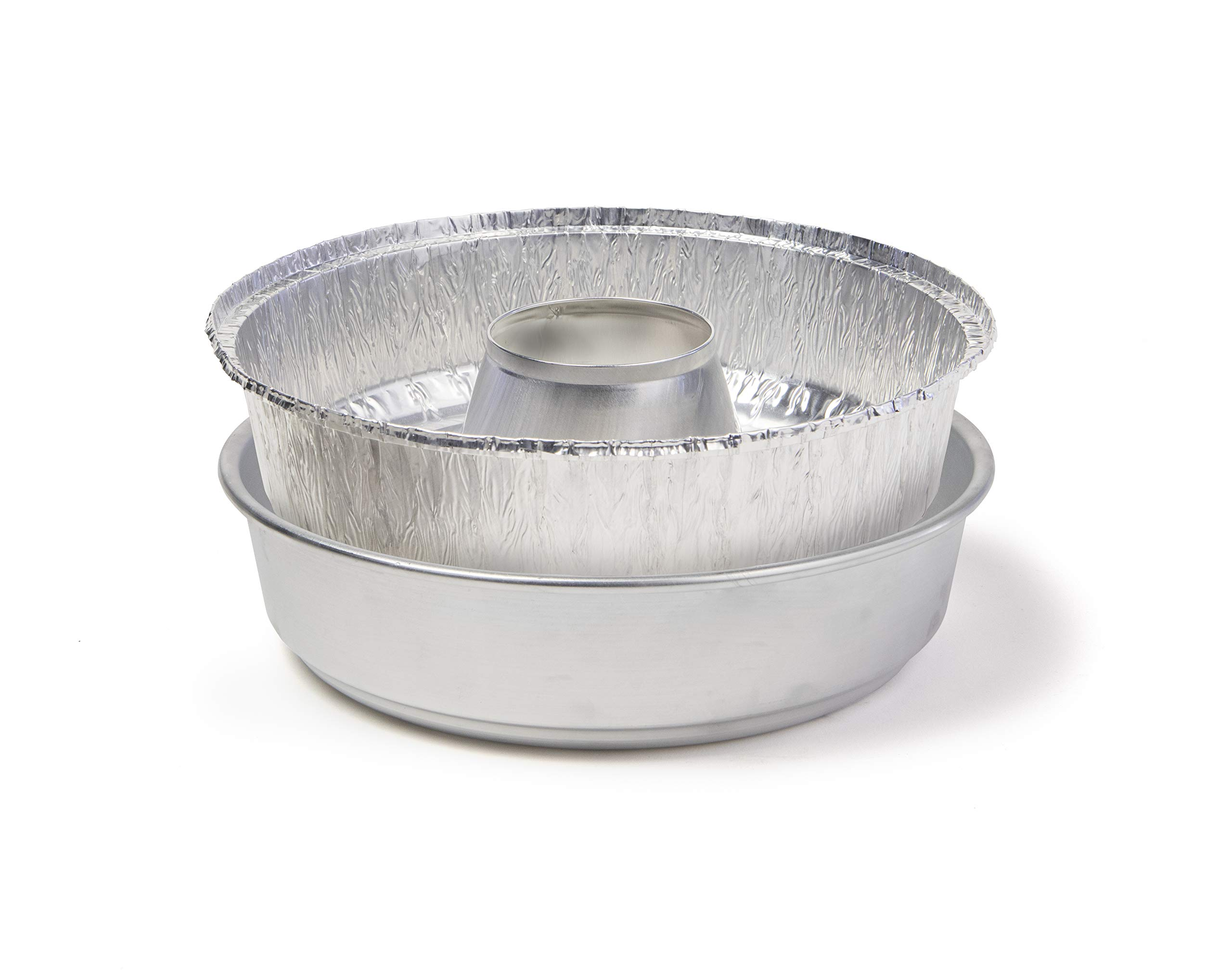 Omnia Oven Foil Dish 5-Pack Plus Custom Parchmnet Paper Rounds