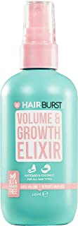 Hairburst Volume & Hair Growth Elixir - Reduce Hair Loss - Heat Protection from Hair Straighteners