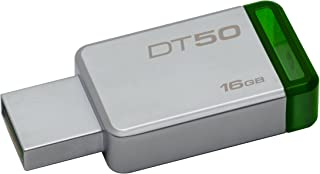 Kingston DT50/16GB Llave Usb, 16 Gb, Verde