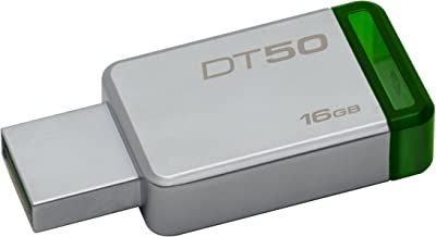 Kingston DT50/16GB Llave Usb, 16 Gb, Verde