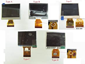 LCD Screen Display For KODAK EASYSHARE C703 C713 C613 C813 C913 C1013 C140 C-50 Pentax E20 E70 Premier DC-6360 Type B ~ DIGITAL CAMERA Repair Parts Replacement