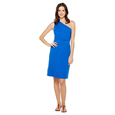 Tommy Bahama Tambour Draped Short Dress (Old Royal) Women