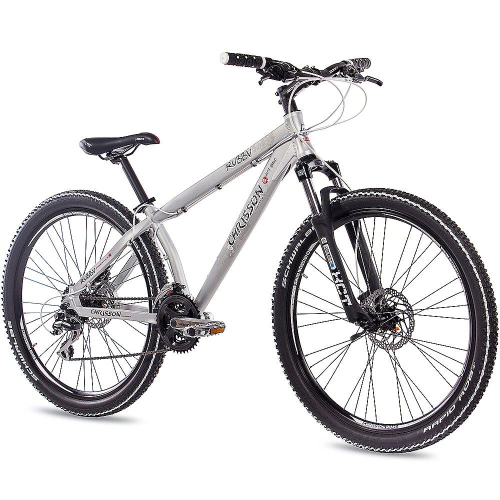 66,04 cm aluminio MTB MOUNTAIN DIRT BIKE bicicleta CHRISSON tinta UNISEX con 24 G 2 x disco SHIMANO walumin mate: Amazon.es: Deportes y aire libre