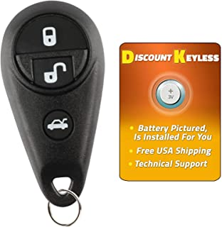 Discount Keyless Remote Replacement Car Key Fob For Subaru Forester Impreza Legacy Outback NHVWB1U711