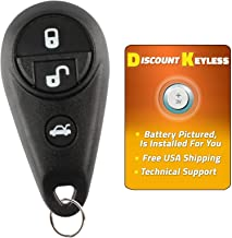 Discount Keyless Remote Replacement Car Key Fob For Subaru Forester Impreza Legacy Outback NHVWB1U711