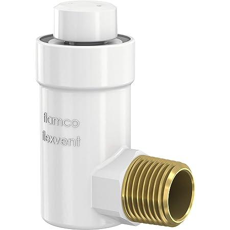 """Válvula de purga de aire automática Flamco Flexvent H R½"""" blanca - 27711"""