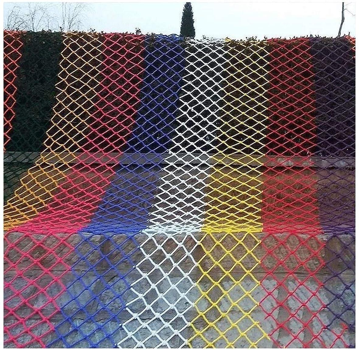 吸収劇場十6色 アウター?ロープ 防護網 日除け網 縄の網 防鳥網 階段の家庭装飾 家庭の保護 ペット保護 商品の保護 安全装飾 工事現場の防護 多用途多機能 (Color : Yellow, Size : 3*10m)