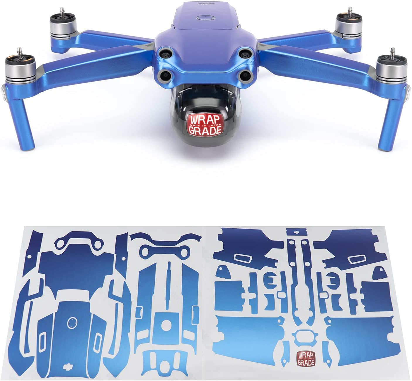 Wrapgrade Max 53% OFF Main Unit Skin 55% OFF DJI 2S Celeste with Compatible Air