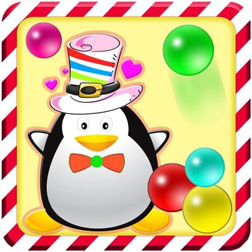 Addictive Penguin Bubble Shooter