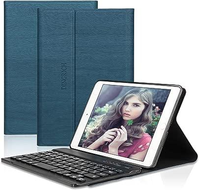 DINGRICH Tastatur H lle f r ipad Mini 5 ipad Mini 4 ipad Mini 3 ipad Mini 2 ipad Mini 1- ipad mini case- Wireless Bluetooth Tastatur- QWERTZ- Magnetisch Schlaf Wach- iPad 7 9 Inch Tastatur H lle Schätzpreis : 29,99 €