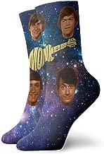 Unisex Womans Men's The Monkees Music Band Socks Sports Socks Cushioned Dress Crew Socks Gift
